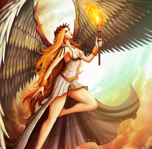 mitologia-grega-daemon-nice
