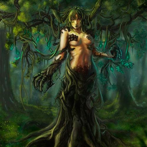 mitologia-grega-ninfa-driade